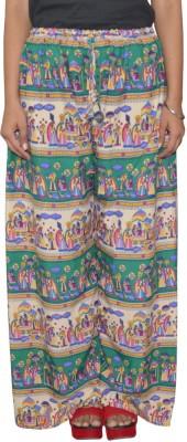 Shreeka Regular Fit Women's Green, White Trousers
