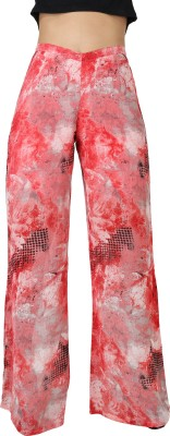 Uptowngaleria Regular Fit Women's Pink Trousers