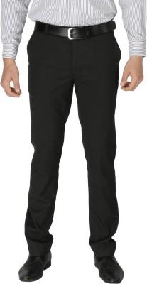 Zido Slim Fit Men's Grey Trousers