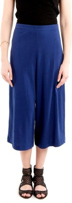SbuyS Regular Fit Women's Blue Trousers