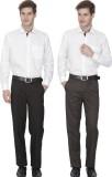 Fizzaro Regular Fit Men's Black, Brown T...