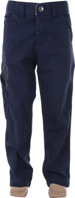 Ice Boys Slim Fit Boy's Dark Blue Trousers