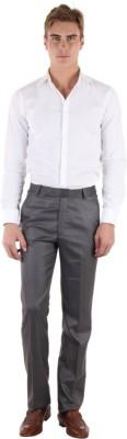Coaster Slim Fit Men's Grey Trousers