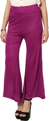 Sakhi Sang Regular Fit Womens Purple Trousers