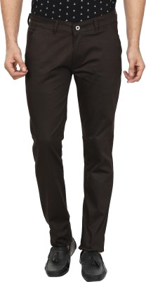 Forever19 Slim Fit Men's Brown Trousers