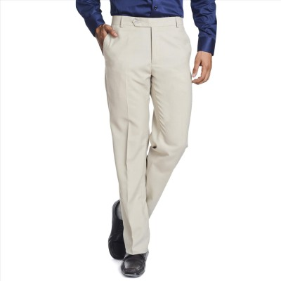 Adam In Style Regular Fit Men's Beige Trousers