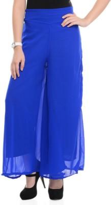 shreya Regular Fit Women's Blue Trousers