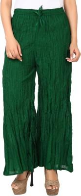 Haniya Regular Fit Women's Dark Green Trousers