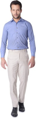SKOOKIE Regular Fit Men's Beige Trousers