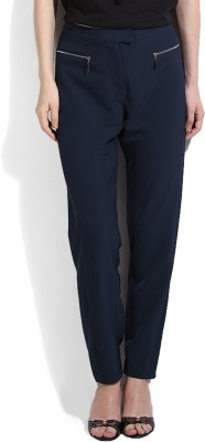 Vero Moda Slim Fit Women's Blue Trousers
