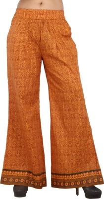Pujarika Regular Fit Women's Red Trousers