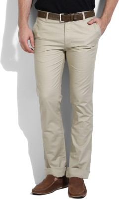 Pepe Jeans Regular Fit Men's Beige Trousers