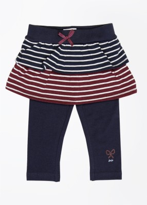 Feetje Baby Girl's Blue, White, Maroon Trousers