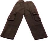 Boyhood Slim Fit Boys Brown Trousers