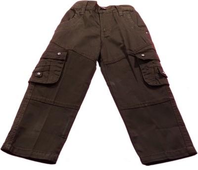 Boyhood Slim Fit Boy's Denim Brown Trousers