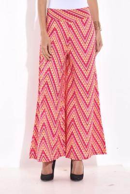 Desi Weaves Regular Fit Women's Pink Trousers