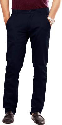 Uber Urban Slim Fit Men's Dark Blue Trousers
