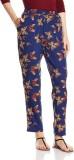 Atayant Regular Fit Women's Blue Trouser...