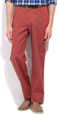 Nautica Regular Fit Men's Red Trousers