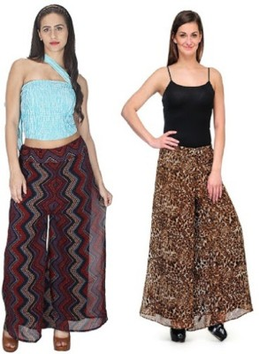 pinksisly Regular Fit Women's Multicolor Trousers