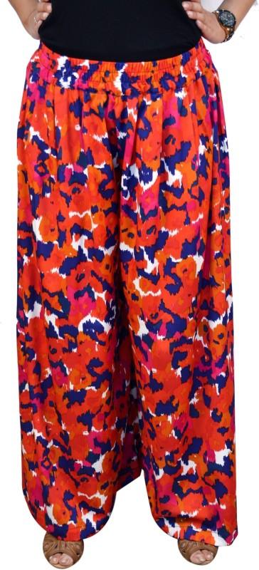 Saree Sparkle Regular Fit Women's Multicolor Trousers