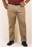 DMARK Slim Fit Men's Cream Trousers