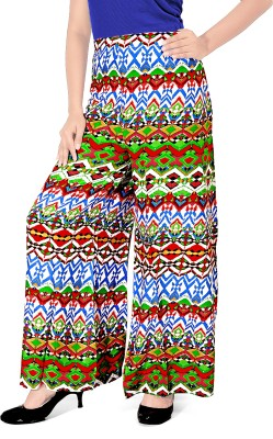 Khushali Regular Fit Women's Green, Multicolor Trousers