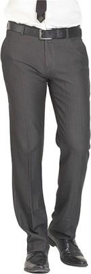 Nattg Slim Fit Men's Grey Trousers
