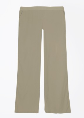 Vero Moda Regular Fit Women's Beige Trousers