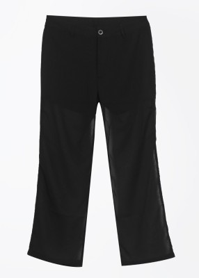 United Colors of Benetton Women's Black Trousers at flipkart