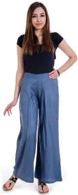 Fille Divin Regular Fit Women's Grey Trousers