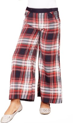 Naughty Ninos Regular Fit Girl's Red Trousers