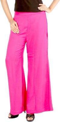 Belinda Regular Fit Women's Pink Trousers