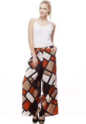Urban Shauk Regular Fit Women's Multicolor Trousers