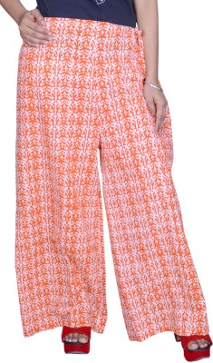 Pezzava Regular Fit Women's Orange, White Trousers
