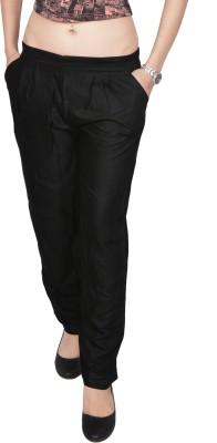 carrol Regular Fit Women's Black Trousers
