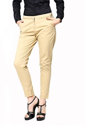 Altamoss Regular Fit Women's Beige Trousers