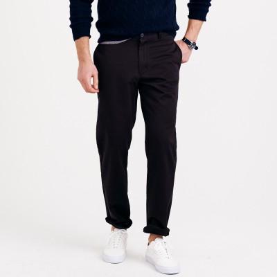 Makeover Regular Fit Men's Black Trousers
