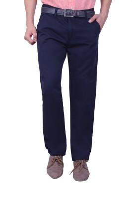 Studio Nexx Regular Fit Men's Blue Trousers