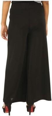 Edge Plus Regular Fit Women's Black Trousers