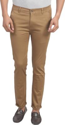 Trendy Trotters Regular Fit Men's Green Trousers
