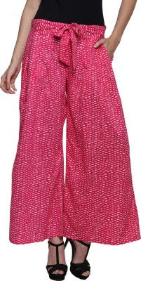 Prakum Regular Fit Women's Pink Trousers