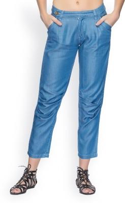 Tarama Regular Fit Women's Blue Trousers
