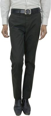 Integration Slim Fit Men's Black Trousers