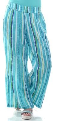 Lyla Regular Fit Women's Light Blue Trousers