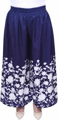 GraceDiva Regular Fit Women's Dark Blue Trousers