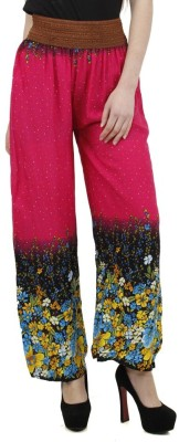 Camey Regular Fit Women's Red Trousers
