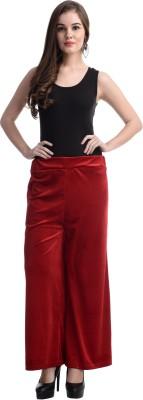 Selfie Regular Fit Women's Red Trousers