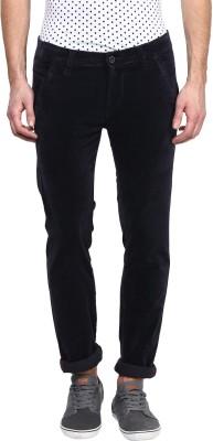 Rodamo Slim Fit Men's Blue Trousers