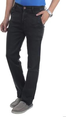 Makeover Slim Fit Men's Black Trousers
